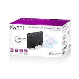 "Ewent Ewent EW7056 behuizing voor opslagstations 3.5"" usb 3.0 HDD-behuizing Zwart"