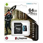 Kingston Kingston Technology Canvas Go! Plus flashgeheugen 64 GB MicroSD Klasse 10 UHS-I