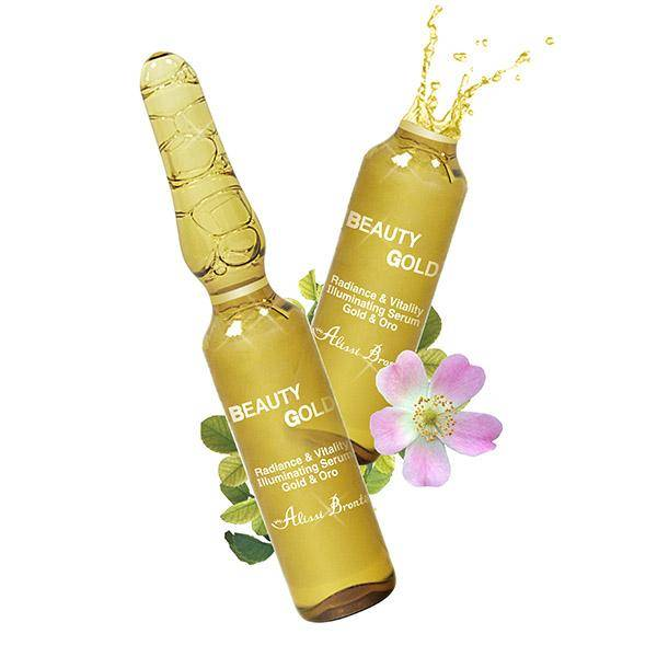 Alissi Brontë Beauty Gold  Concentrated anti-age Serum 10pcs x 2ML