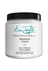 Eve Taylor Organic Massage Cream face&body  250ML - Eve Taylor