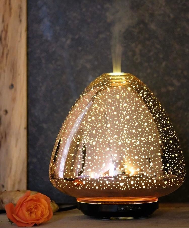 Aroma Diffuser Space - Rosé Gold