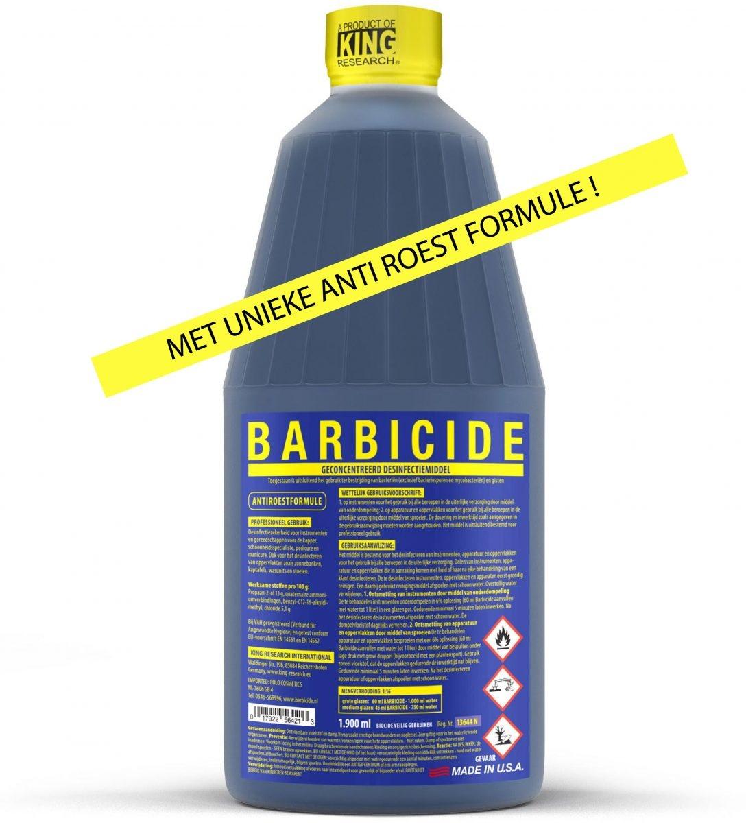 Barbicide Barbicide Desinfectievloeistof  - 1,9L
