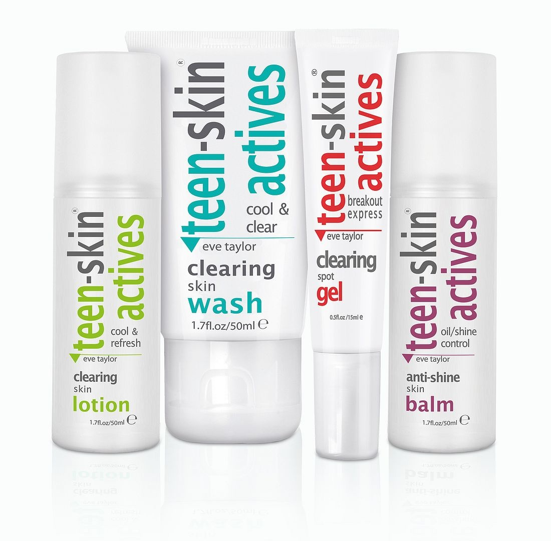 Eve Taylor Teen Skin Actives Collection Kit - Eve Taylor