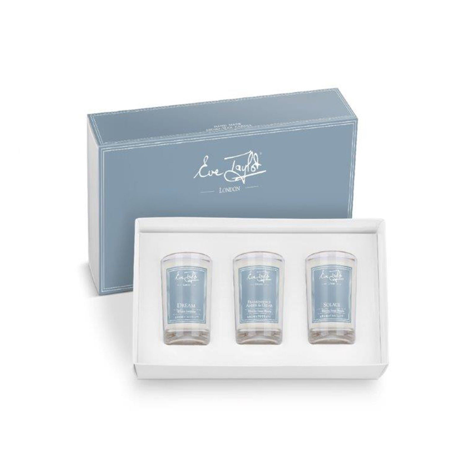 Eve Taylor Scented Candle Set Serenity - set of 3