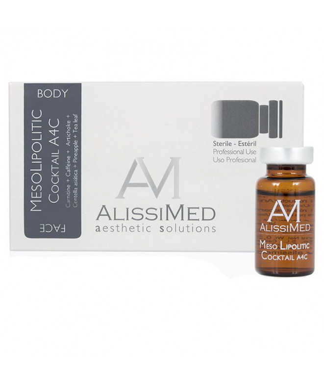 AlissiMed Meso cocktail BODY Ampoules 4 x 10 ml