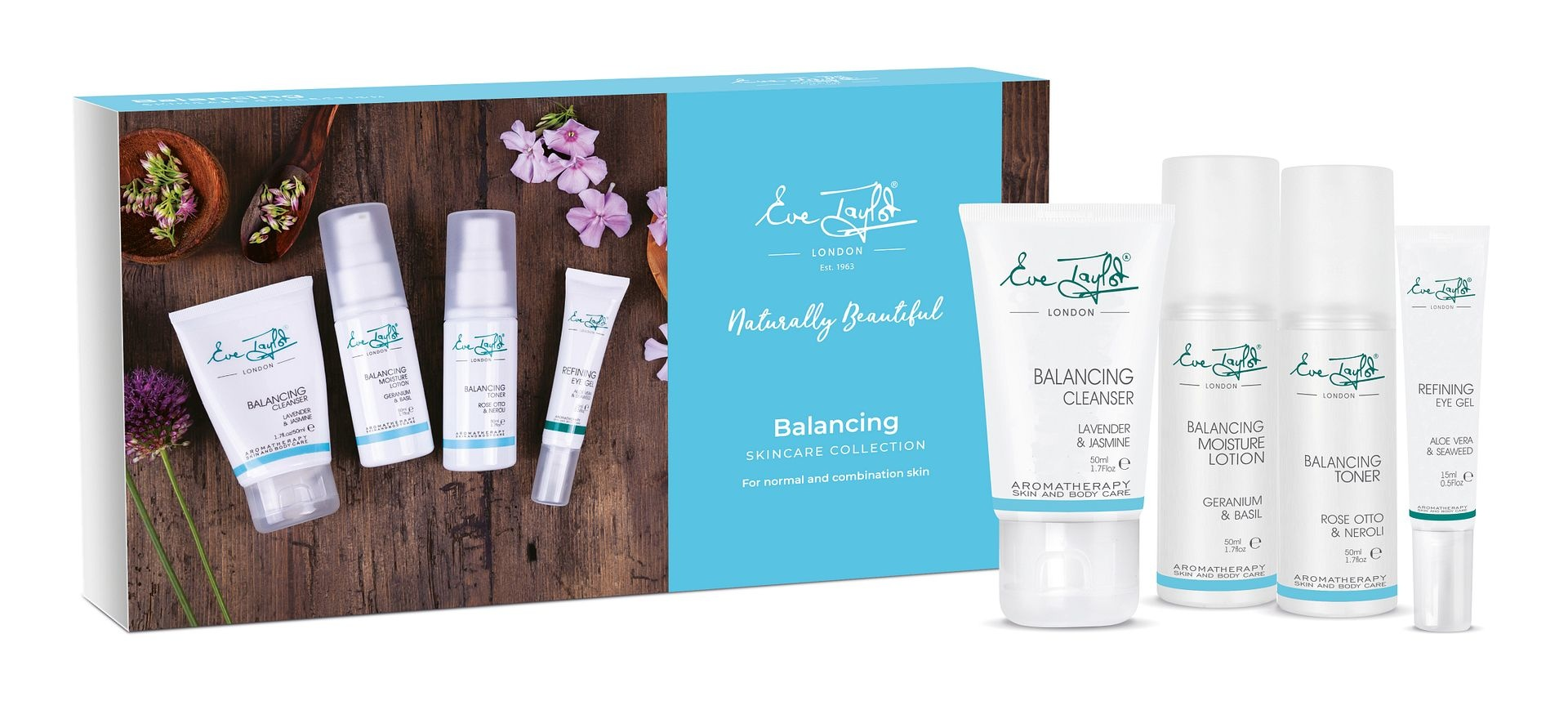Eve Taylor Balancing Skincare Collection Kit - Eve Taylor