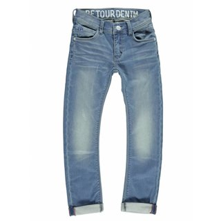 Blauwe jog skinny jeans Luigi