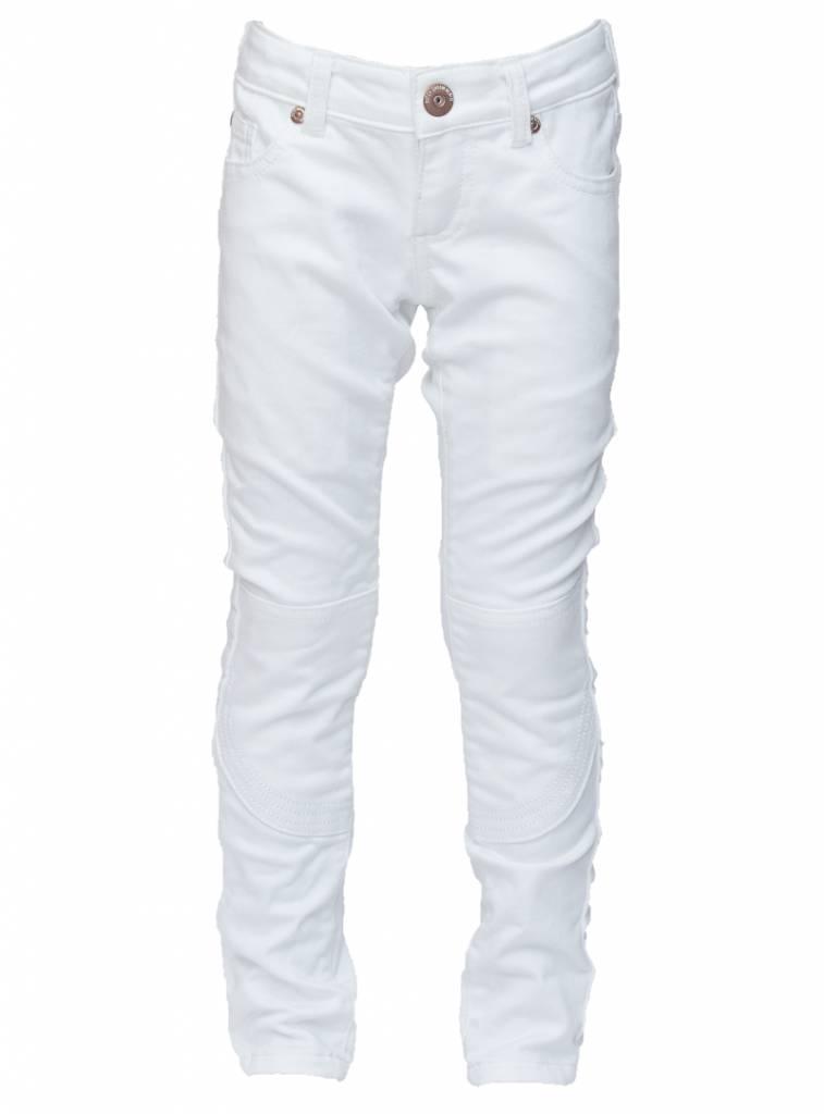 dutch dream denim witte broek inzi | capuchon fashion