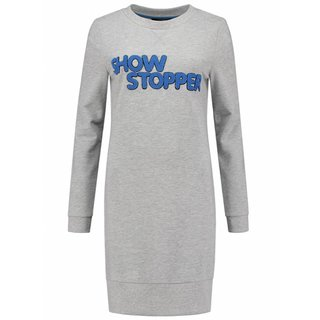 Lichtgrijze jurk Show Stopper