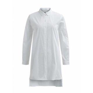 Witte blouse Poplin