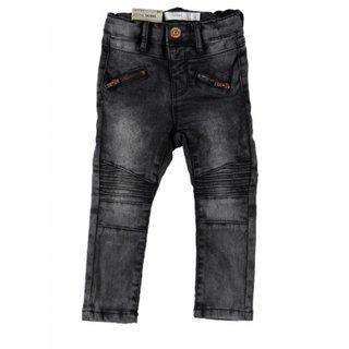 Donkergrijze skinny jeans Tib