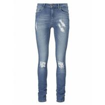 Blauwe skinny jeans Diva Leon