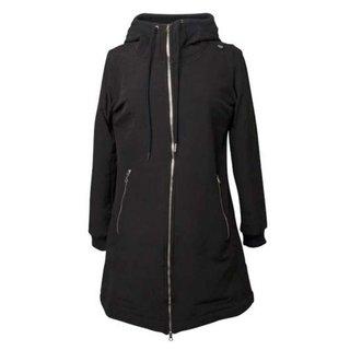 Zwarte softshell jas Jane