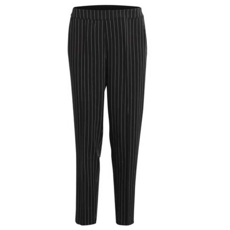 2d03d84a36f Object Zwart met wit gestreepte broek Cecilie | Capuchon Fashion