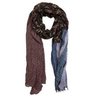 Bruin geprinte sjaal Palipa