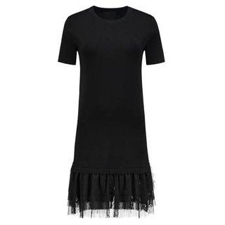 Zwarte jurk Jora Tulle
