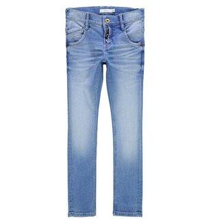 Mediumblue skinny jeans Pete Tarzan