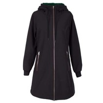 Zwarte jas Jane Softshell