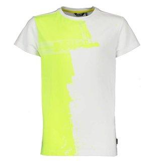 Wit met geel t-shirt Kean