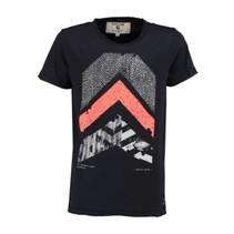 Donkerblauw t-shirt M83406