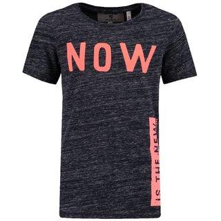Donkerblauw t-shirt M83413