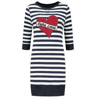 Blauw wit gestreepte jurk Stripe