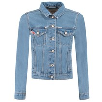 Bleached denim jacket M82450