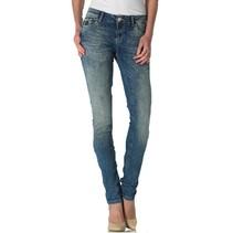 Blauwe slim highwaist jeans Sunny
