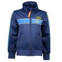 Donkerblauwe training jacket 6313