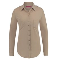 Beige blouse Poppy Safari