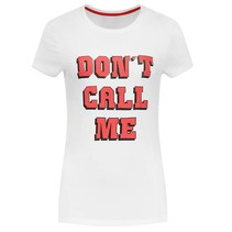 Wit t-shirt Don't Call Me