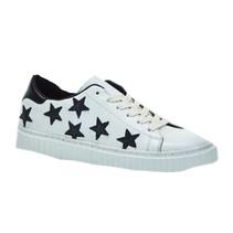 White Napa/Black Stars sneaker