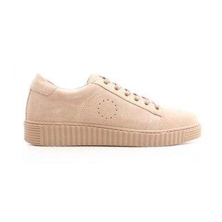 Beige Suede sneaker