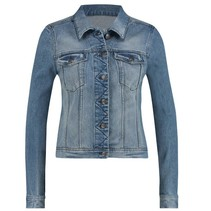 Lichtblauwe jeans jacket Isabel