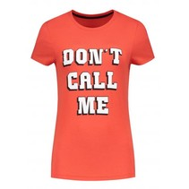 Coral t-shirt Don't Call Me
