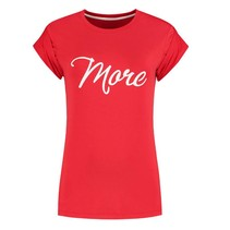 Rood t-shirt More