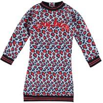 Leopard jurk Dewi