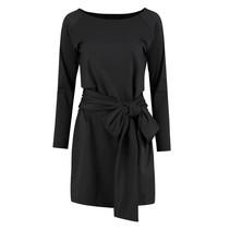 Zwarte jurk Suzy Bow