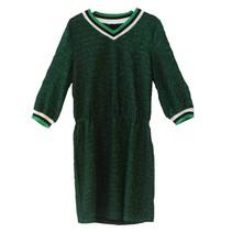 Groene jurk Gitana Lurex