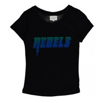 Zwart t-shirt Rebels