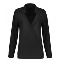 Zwarte blouse River