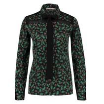 Groene blouse Linou