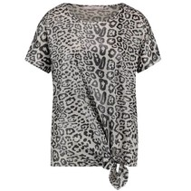 Witte leopard top Alyna