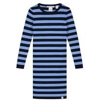 Donkerblauw met lichtblauwe jurk Jolie