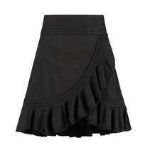 Zwarte rok Jori Ruffle