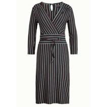 Groene Cecil jurk Blackjack Stripe