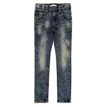 Blauwe skinny jeans Pete Thomas