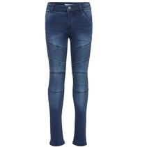 Donkerblauwe skinny jeans Polly Teona