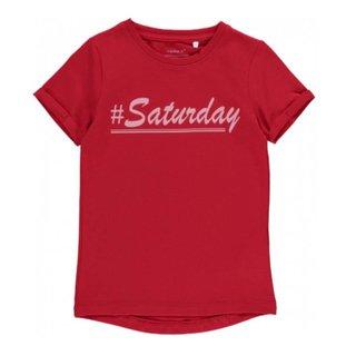 Rood t-shirt Lissy