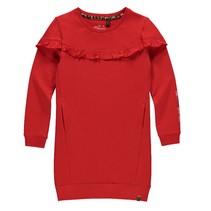 Rode jurk Leonie